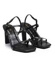 Fashion Lab - Strappy Slingback Heels-2643935
