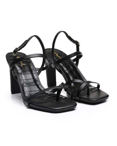 Fashion Lab - Strappy Slingback Heels