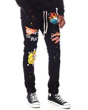 Jeans - Graffiti Money Bag Jean-2645692