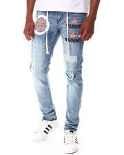 Jeans - Caution Graffiti Drawcord Jean-2645487