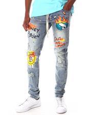 Jeans - Graffiti Money Bag Jean-2645497