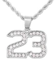 Buyers Picks - Rope Chain Necklace W/ 23 Pendant-2646025