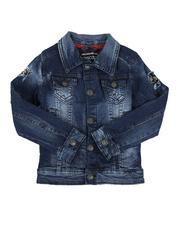 Outerwear - Rip & Repair Denim Jacket (4-7)-2644646