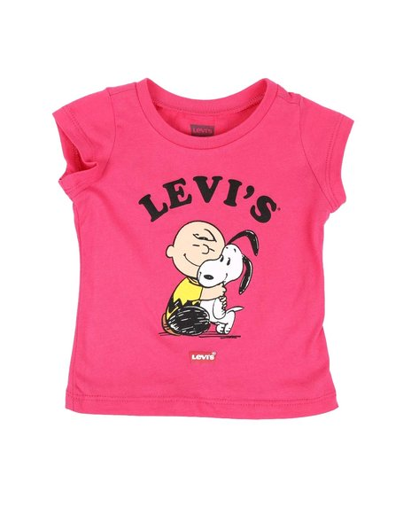 Levi's - Charlie Brown & Snoopy BFF Tee (Infant)