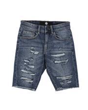 Shorts - Distressed Denim Shorts (8-18)-2645271