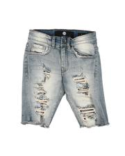 Shorts - Distressed Denim Shorts (8-18)-2645281