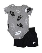 Sets - 2 Pc JDI Confetti Bodysuit & Shorts Set (Infant)-2645287