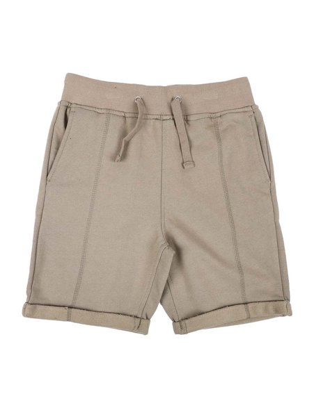 Arcade Styles - Drawstring Knit Shorts (8-20)