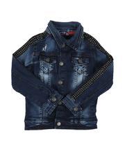 Outerwear - Rip & Repair Denim Jacket (4-7)-2646013