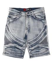 Shorts - Biker Denim Shorts (8-18)-2645190