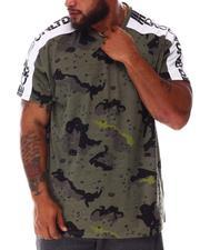 Men - Whack A Sleeve Camo V-Neck T-Shirt (B&T)-2645973