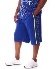 Men - Side Splatter Terry Knit Shorts (B&T)-2646204