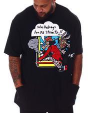 Men - She Belongs 2 Da Streets T-Shirt (B&T)-2643436