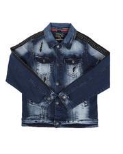 Arcade Styles - Rip & Repair Denim Jacket (8-18)-2646008