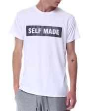Shirts - SELF MADE RUBBER PRINT TEE-2646636