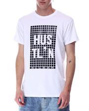 Shirts - HUSTLIN RUBBER PRINT TEE-2646654