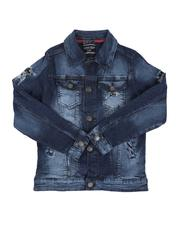 Sizes 8-20 - Big Kids - Rip & Repair Denim Jacket (8-18)-2644707