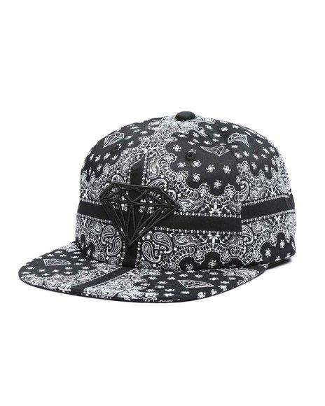 Diamond Supply Co - Brilliant Bandana Unstructured Snapback Hat