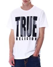 True Religion - SHADOW HORSESHOE LOGO Tee-2646866