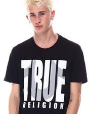 True Religion - SHADOW HORSESHOE LOGO Tee-2646974