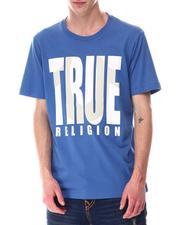 True Religion - SHADOW HORSESHOE LOGO Tee-2646990