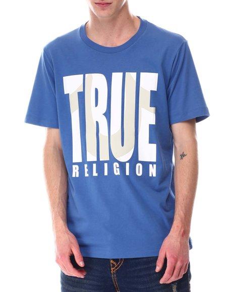 True Religion - SHADOW HORSESHOE LOGO Tee