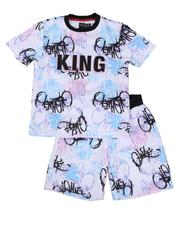 Sizes 8-20 - Big Kids - 2 Pc Scuba Printed Set (8-18)-2643346