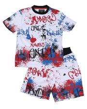 Sizes 8-20 - Big Kids - 2 Pc Scuba Printed Set (8-18)-2644490