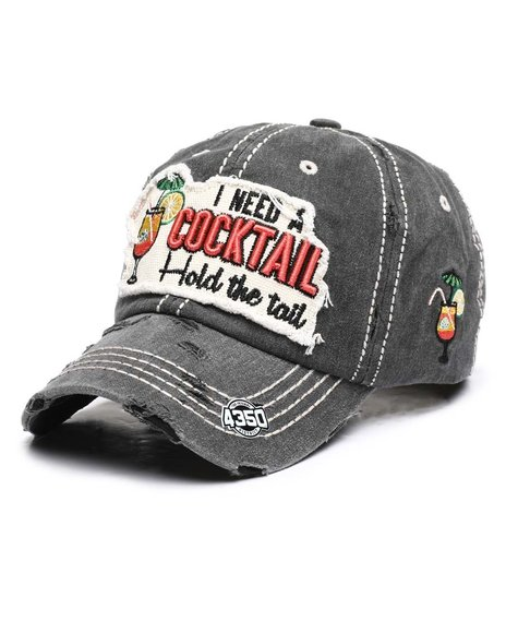 Buyers Picks - I Need A Cocktail Vintage Cap