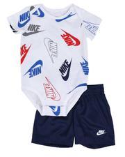 Boys - 2 Pc JDI Confetti Bodysuit & Shorts Set (Infant)-2645291