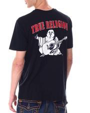 Shirts - BUDDHA LOGO CREW NECK TEE-2645399