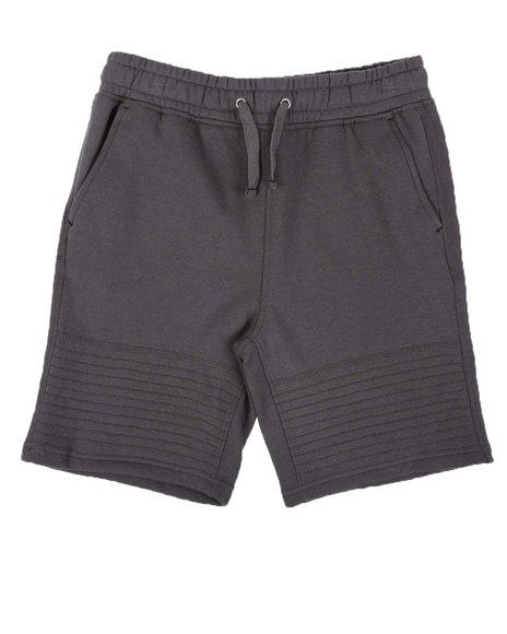 Arcade Styles - Moto Knit Shorts (8-20)