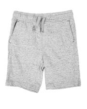 Sizes 8-20 - Big Kids - Moto Knit Shorts (8-20)-2646163