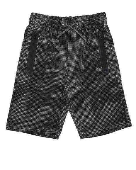 Arcade Styles - Camo Tech Fleece Shorts (8-20)