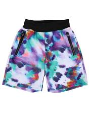 Sizes 8-20 - Big Kids - Printed Scuba Shorts (8-18)-2646227