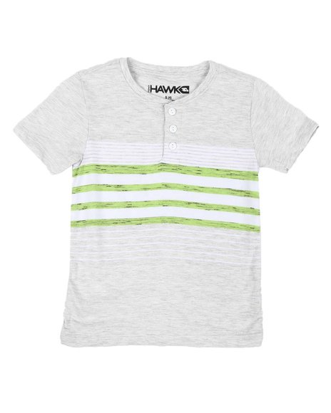 Tony Hawk - Striped Henley Shirt (4-7)