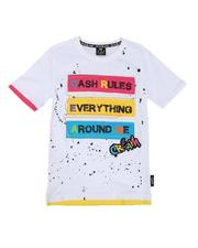Sizes 8-20 - Big Kids - Cash Rules Tee (8-20)-2647756