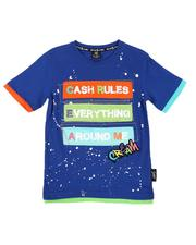 Sizes 8-20 - Big Kids - Cash Rules Tee (8-20)-2647772