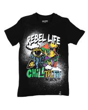 Sizes 8-20 - Big Kids - Rebel Life Tee (8-20)-2646747