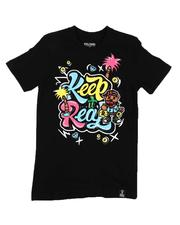 Sizes 8-20 - Big Kids - Keep It Real Graphic Tee (8-20)-2646752