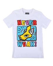 Sizes 8-20 - Big Kids - Never Weak Graphic Tee (8-20)-2646757