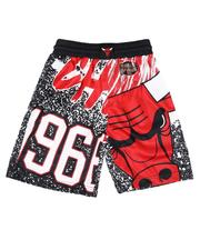 Mitchell & Ness - Chicago Bulls Swingman Shorts (8-20)-2646782