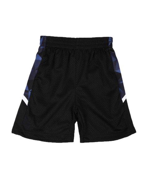 Arcade Styles - Lined Mesh Trim Shorts (4-7)