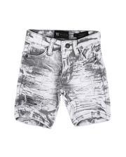 Boys - Acid Denim Shorts (2T-7)-2647248