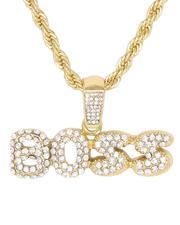 cartoons-pop-culture - Boss Chain Necklace-2647519