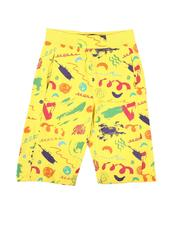Sizes 8-20 - Big Kids - All Over Print Knit Shorts (8-20)-2647653