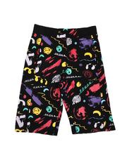 Sizes 8-20 - Big Kids - All Over Print Knit Shorts (8-20)-2647678