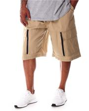 Akademiks - Cargo Shorts with Ribbed Waistband (B&T)-2646128