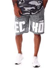 Ecko - E-C-K-O Fleece Shorts (B&T)-2647623