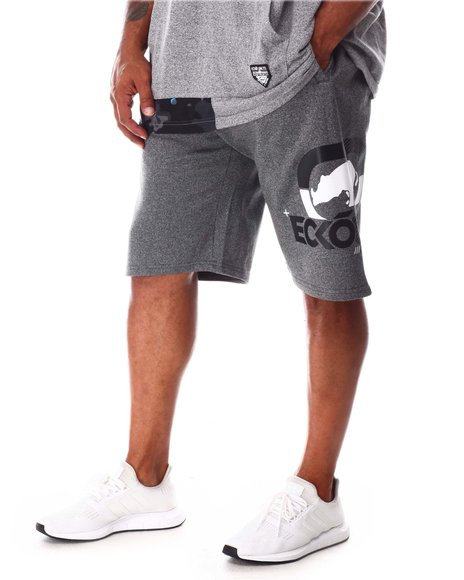 Ecko - Four Square Fleece Shorts (B&T)